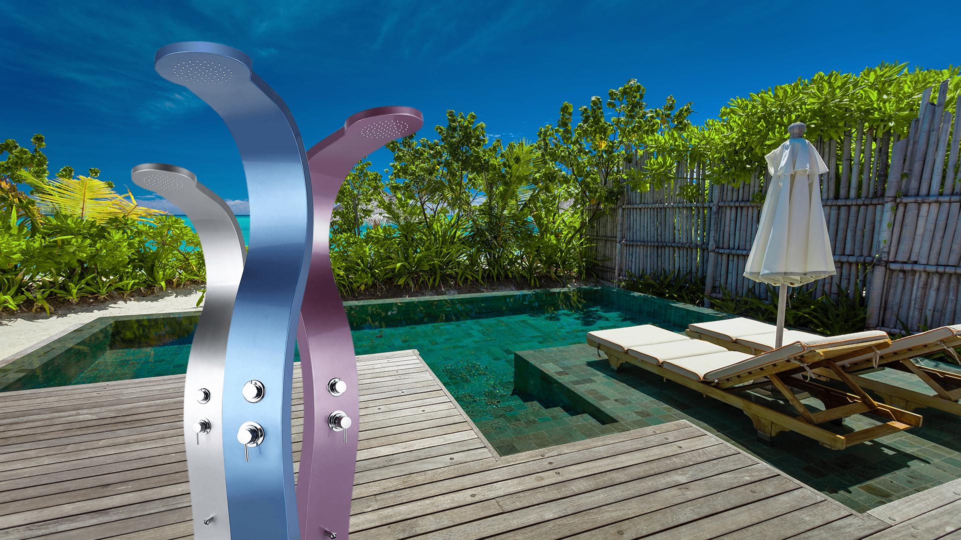 Záhradné sprchy pre Vás