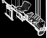 Otočný ražeň s motorom 230 V