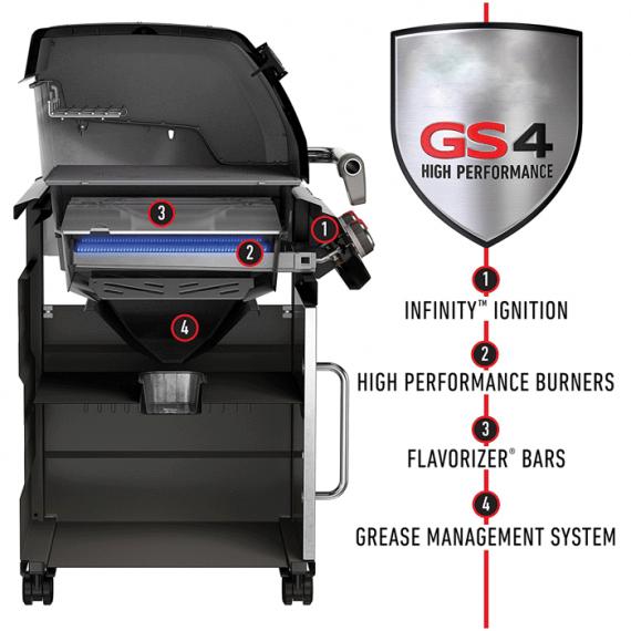 Genesis® II S-310 GBS (nerez)